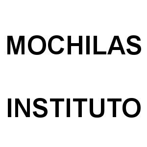 Mochilas Instituto