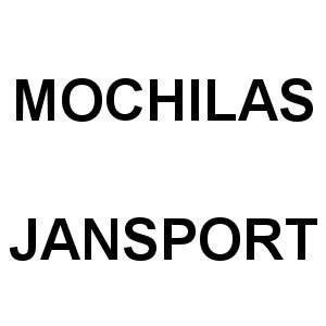 Mochilas JanSport